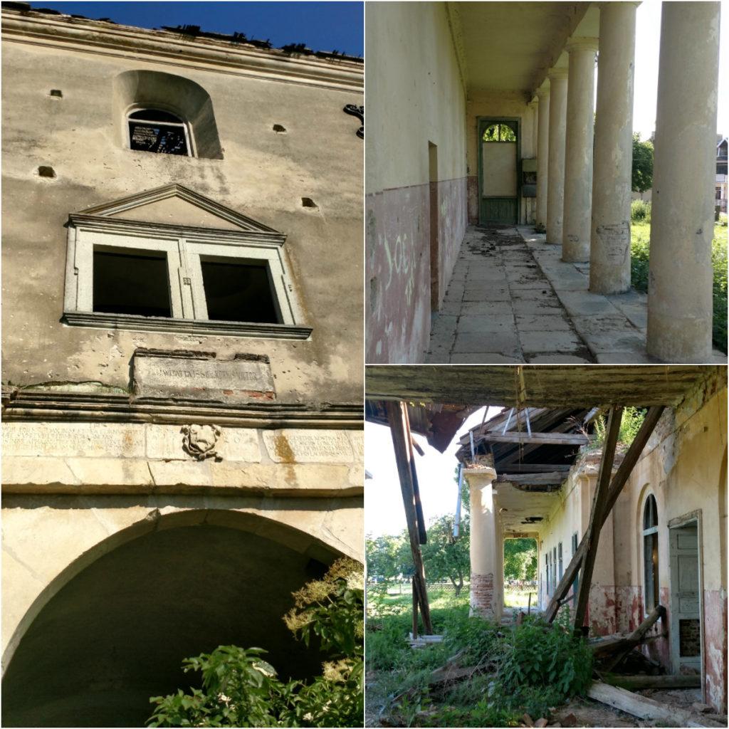 Castelul Kornis cu inorogi Județul Cluj