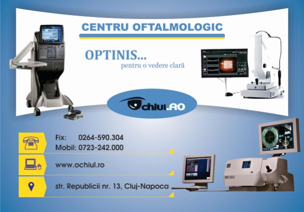 Centrul oftalmologic Optinis cluj