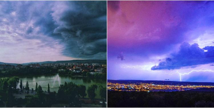 Cerul Clujului - Galerie FOTO ClujulVăzutAltfel
