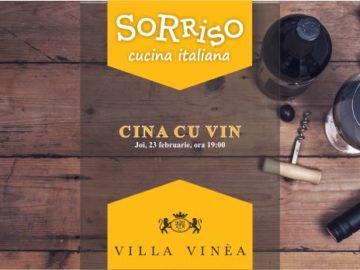 Cină cu vin | Bistro Sorriso | Evenimente în Cluj | Cluj.com