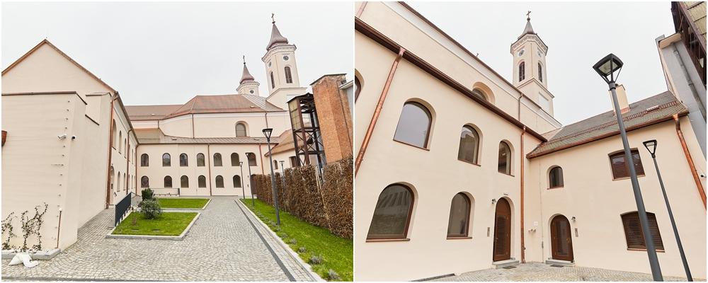 Claustrul Manastirii Franciscane din Gherla