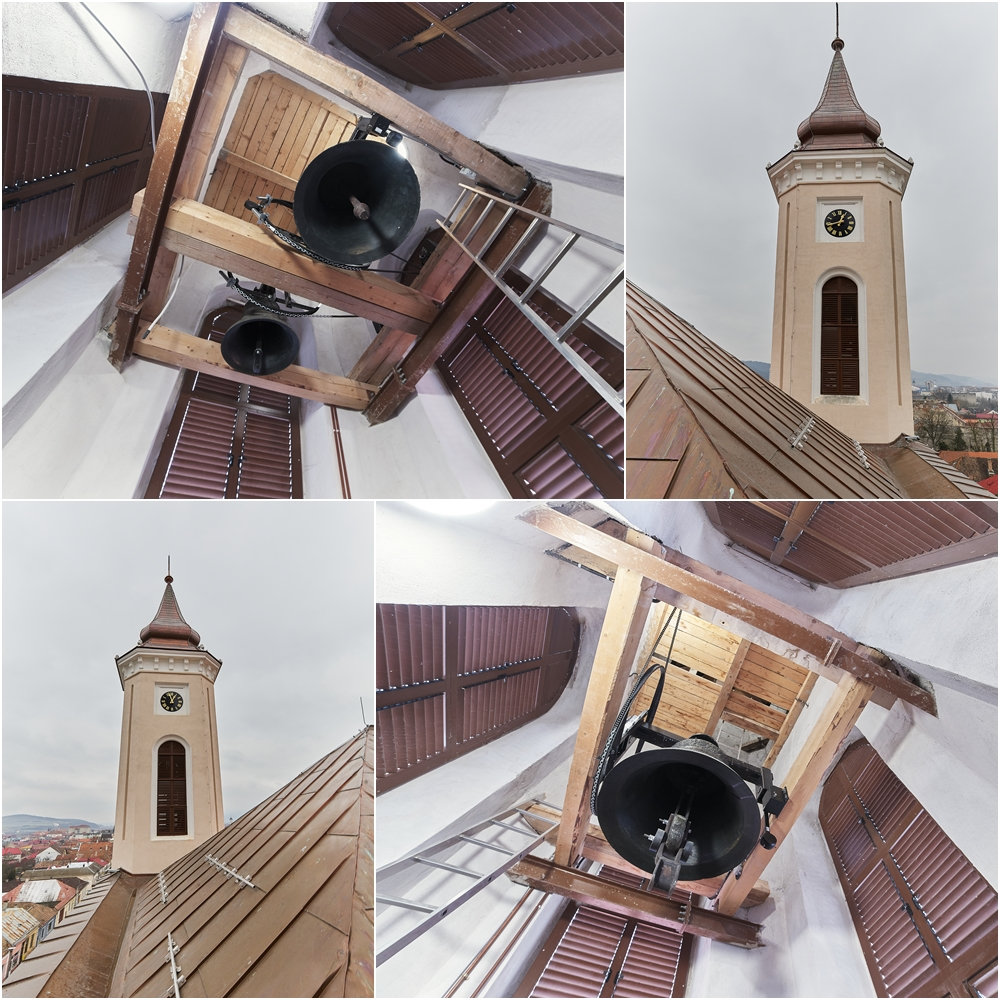Clopotele - Manastirea Franciscana din Gherla