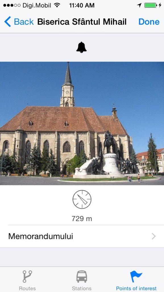 Cluj Bus iPhoto Obiectiv turistic