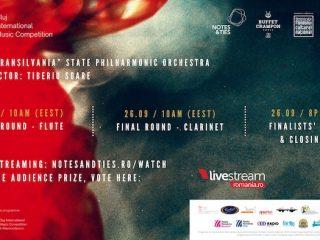 Cluj International Music Competition: etapa finală și gala laureaților