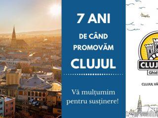 Ce am învățat în cei 7 ani de când promovăm Clujul? | Aniversare Cluj.com