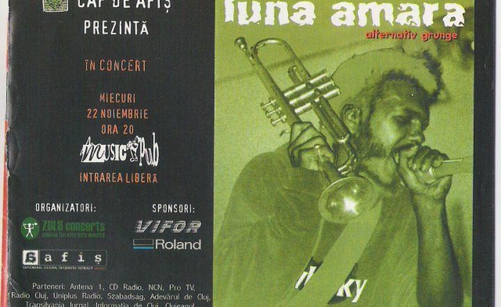 Clujul anilor 2000 afiș concert1