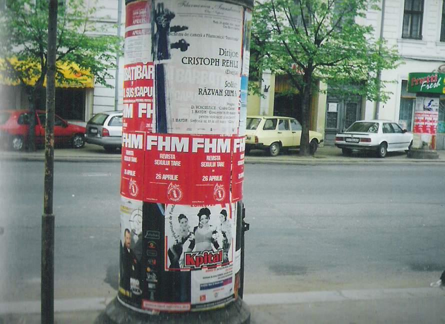 Clujul anilor 2000 afișe