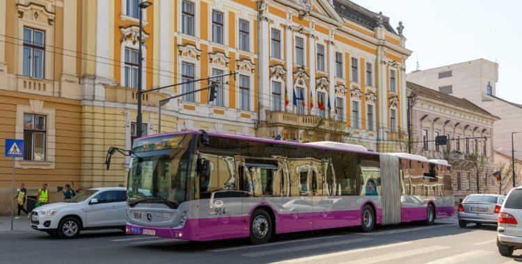 Clujul are autobuze noi