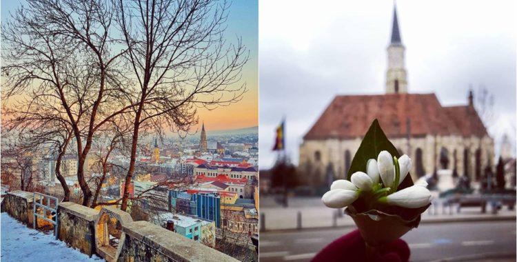 Clujul in 15 fotografii ale lunii februarie 1