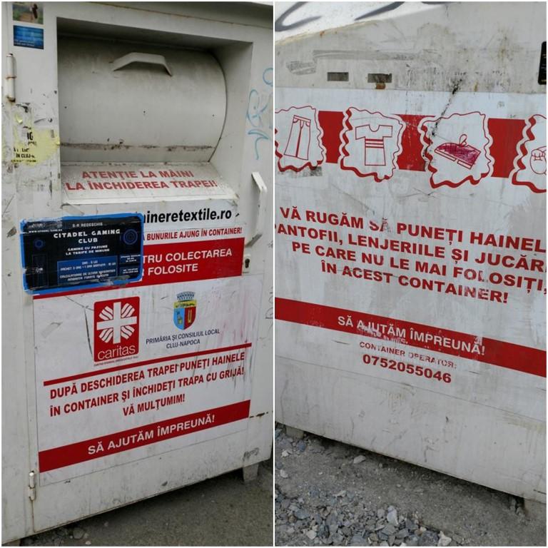 Clujul reciclează haine