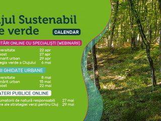 """""""Clujul sustenabil este verde"""" – Lansare proiect & calendar"""