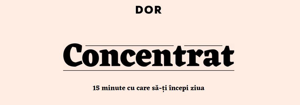 Concentrat DoR