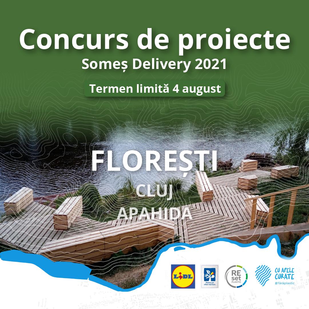 Concurs de proiecte Somes Delivery Floresti