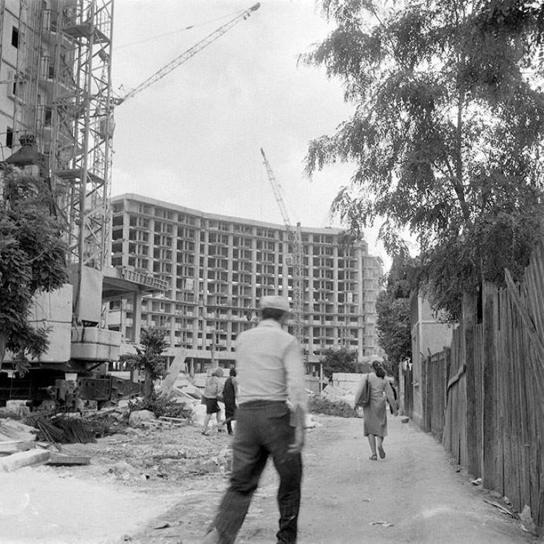 Constructia cartierului Marasti