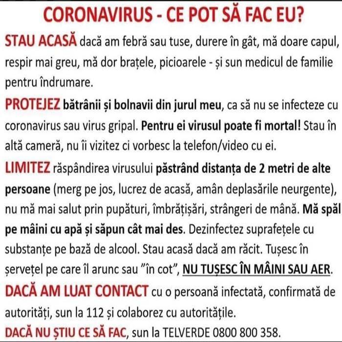 Coronavirus in Cluj c