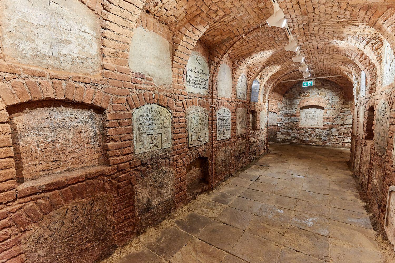 Cripta Manastirea Franciscana din Gherla