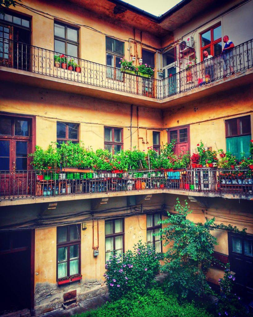 Curțile interioare ale Clujului
