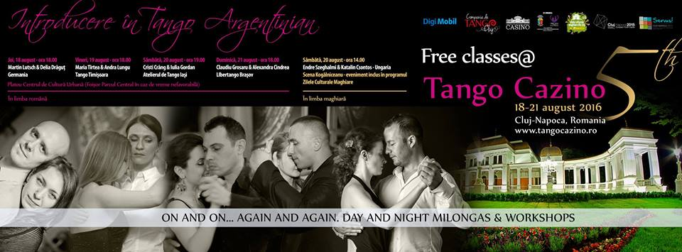 Cursuri Gratuite de Initiere in Tango