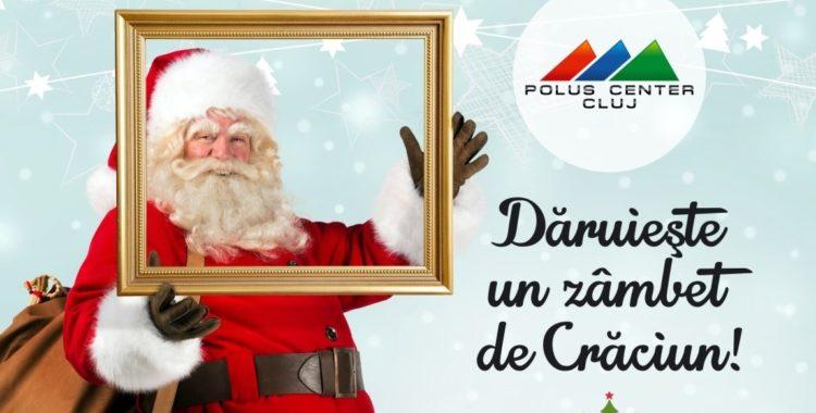 Dăruieşte un zâmbet de Crăciun la Polus