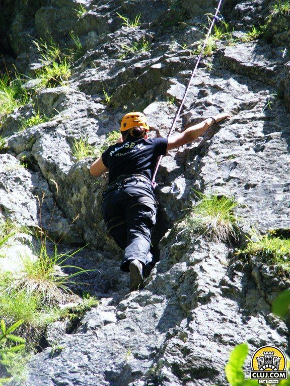 trasee turistice rachitele ciclism escalada alpinism cluj