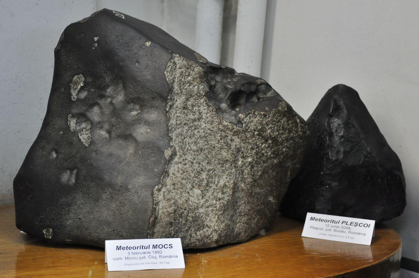 Descoperă Clujul: singura colecție de meteoriți din România