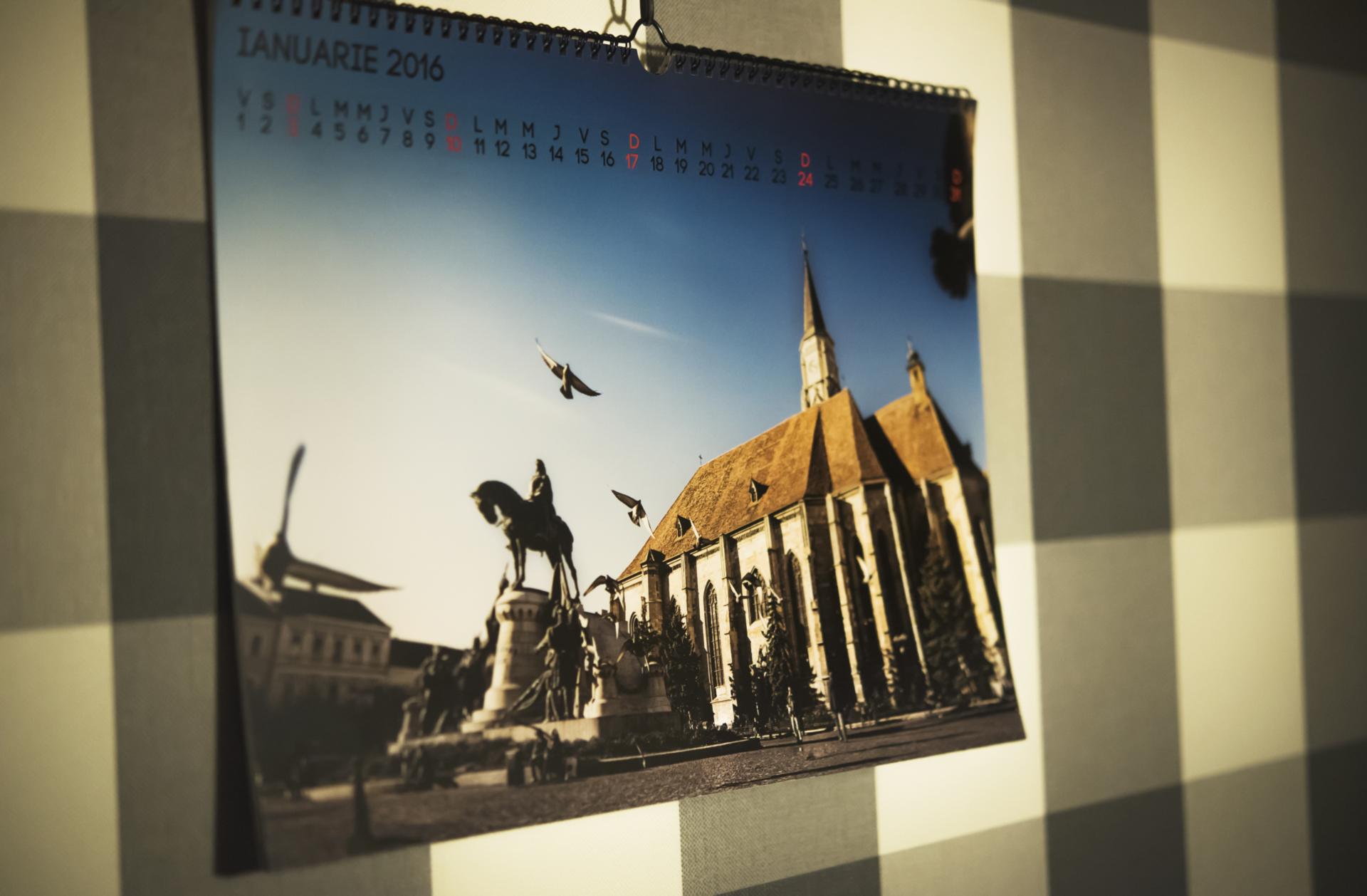 logo fotocolaj albume foto cadou calendar cluj 2016