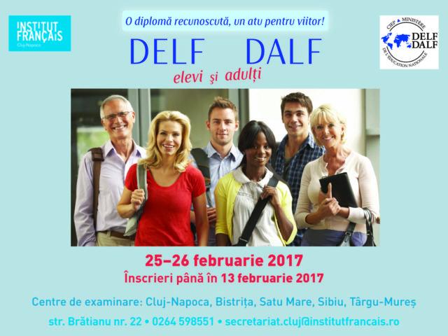 SESIUNEA DELF / DALF sesiunea delf / dalf la institutul francez cluj