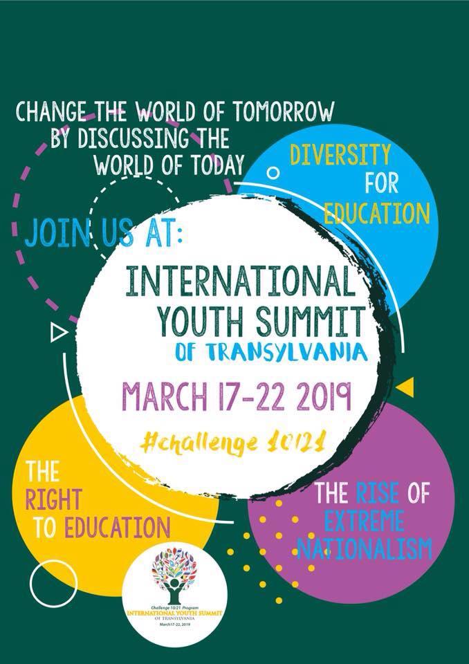 Evenimente europene la Cluj International Youth Summit of Transylvania