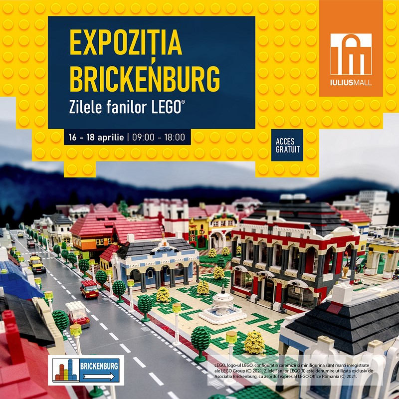 Expoziție LEGO
