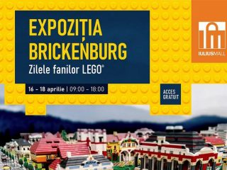 Expoziție inedită de construcții LEGO, la Iulius Mall Cluj