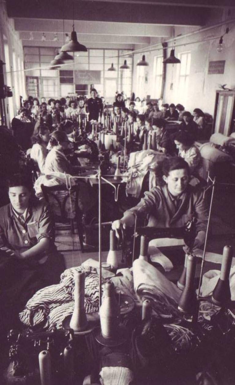 Fabrica de tricotaje Varga Katalin, in anul 1952. In anul 1971 devine Fabrica de tricotaje Somesul