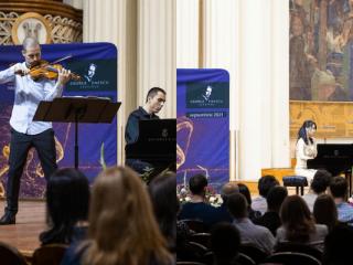 Festivalul Enescu continuă la Cluj-Napoca cu noi concerte de excepție
