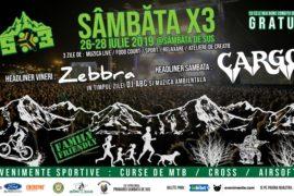 Festivalul sportic Sambata x3 - bilet
