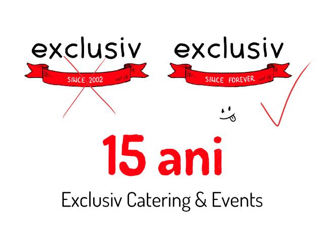 Since 2002. Since… forever – Brandul clujean Exclusiv Catering se rebranduiește
