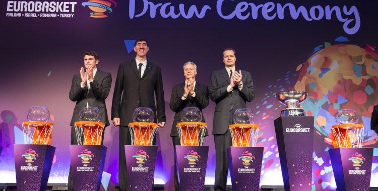 FIBA anunță grupele la EUROBASKET 2017!   Cluj.com