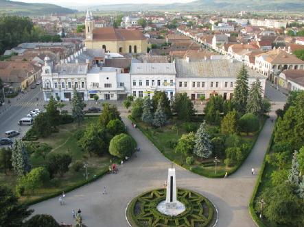 Casa de Cultura Gherla, jud. Cluj