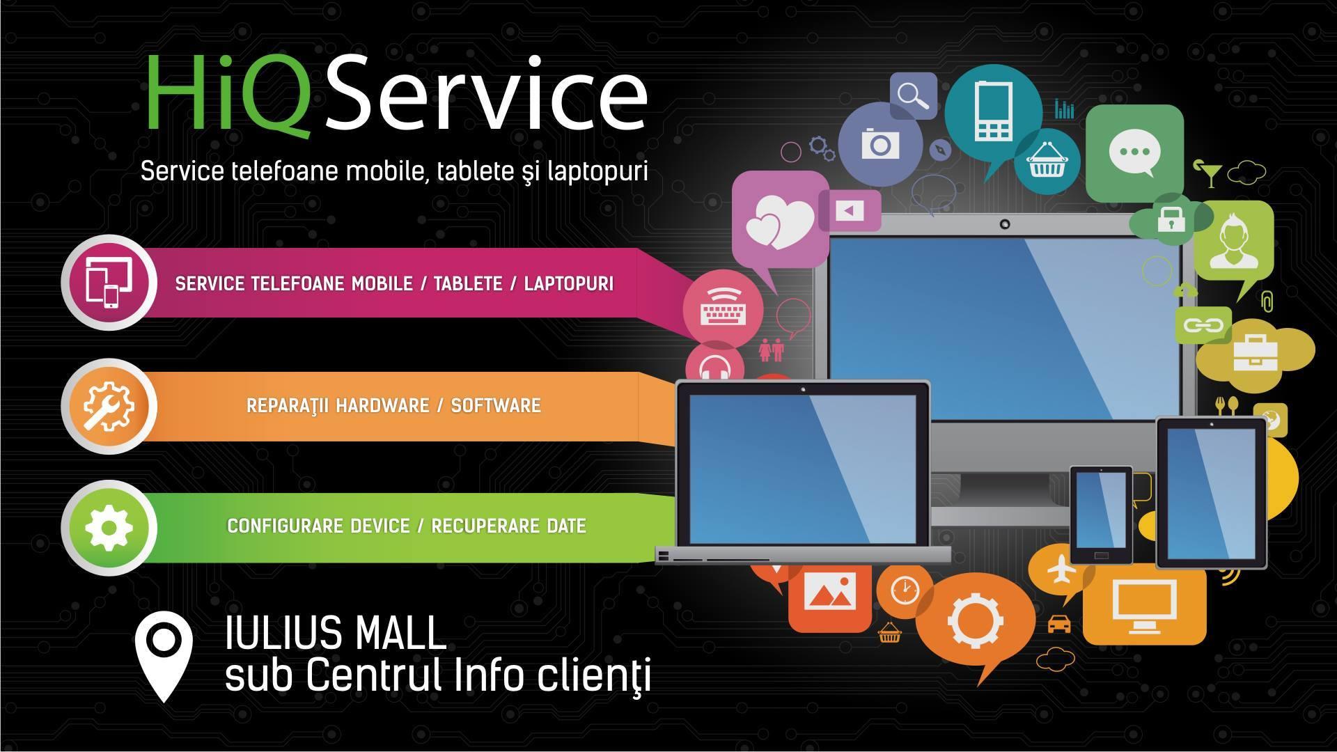 HiQ Service Cluj îți scoate mobilul din orice încurcătură