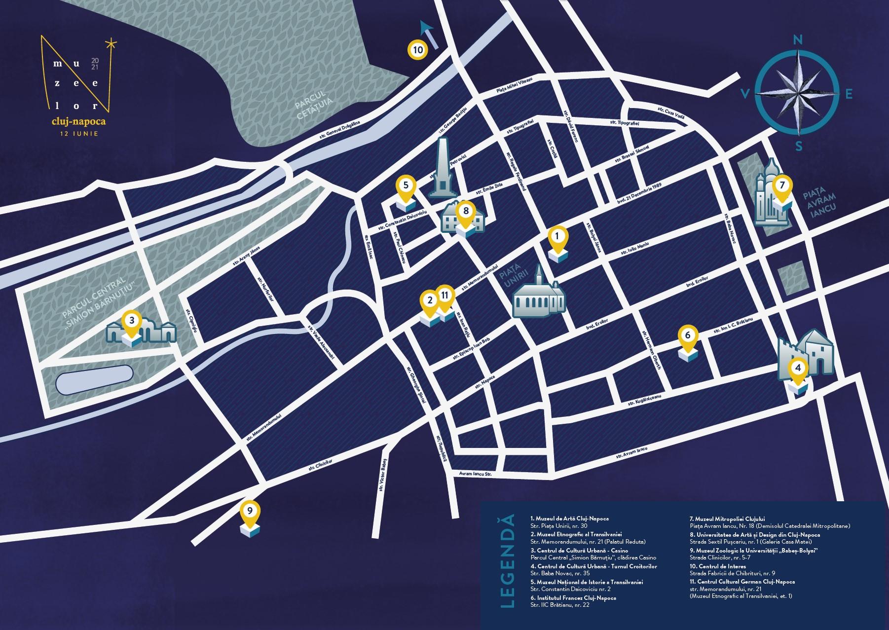 Harta Noaptea Muzeelor 2021
