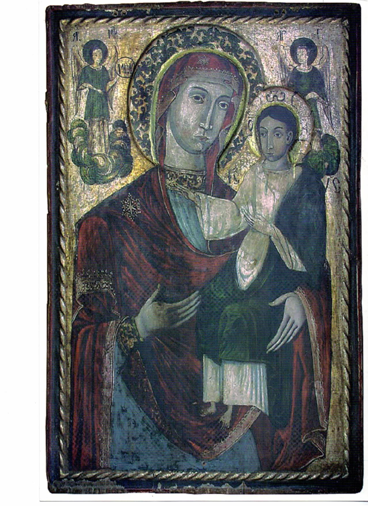 Icoana de la manastirea Dragomiresti expusa la Muzeul Etnografic