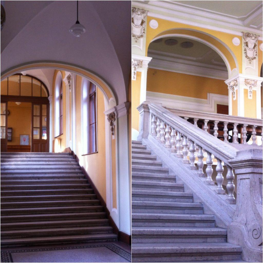 Clujul văzut din interiorul clădirilor sale