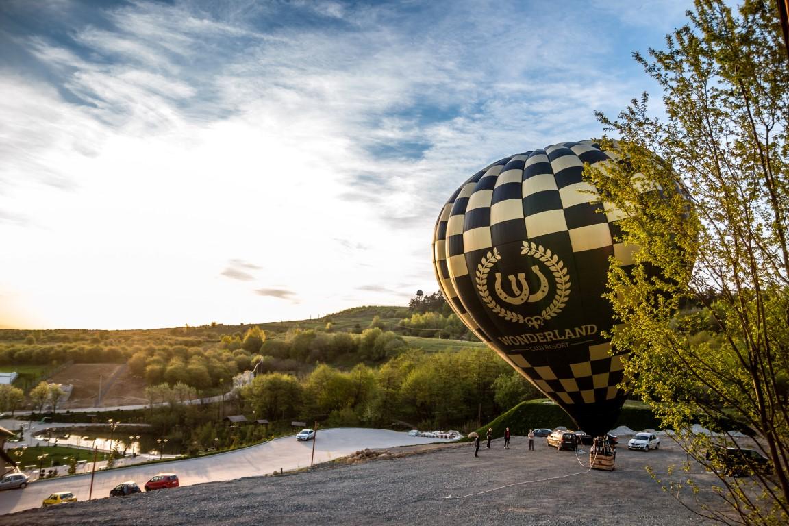 zbor balon cu aer cald wonderland cluj