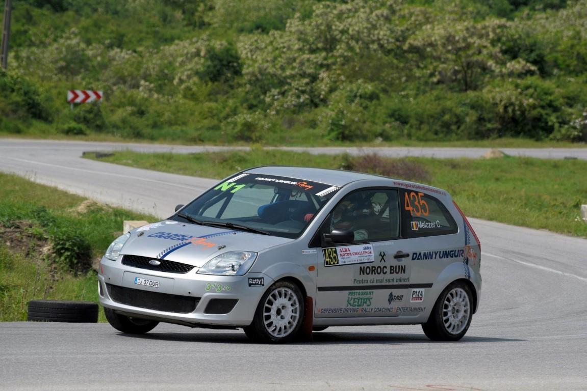 pilot de raliu la Transilvania Rally Cristian Melczer