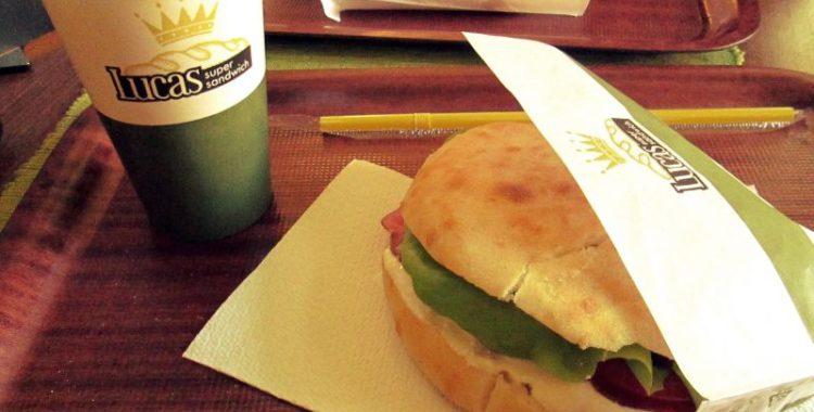 meniul zilei la lucas super sandwich