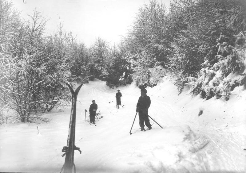 Iarna la Faget, in anul 1933.