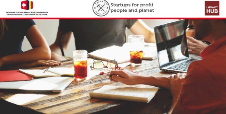 Continuă procesul de incubare în programul Impact Startup Factory