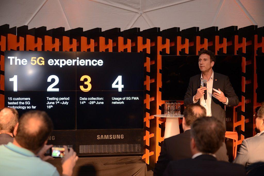 Inovație la nivel european Clujul testează în premieră tehnologia 5G, prin Orange România (3)