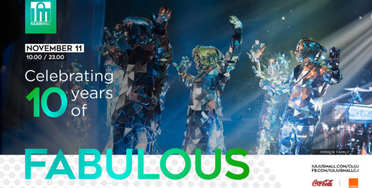 Iulius Mall Cluj sărbătorește 10 ani de existență