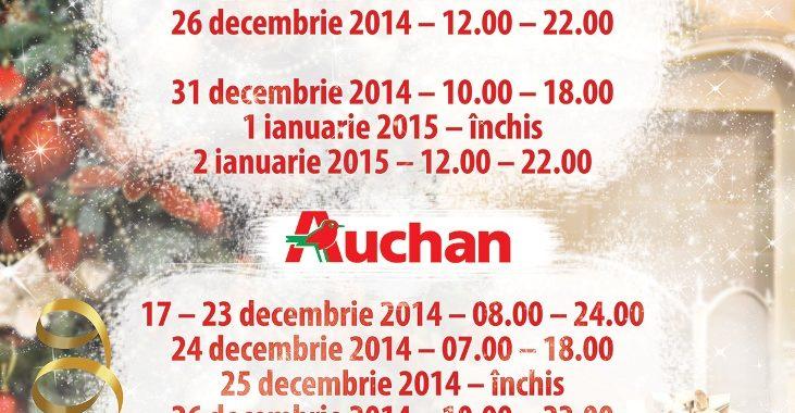 Program special de sărbători Iulius Mall