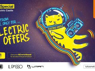 Iulius Mall Cluj este gata de festival: Electric Bus Station și Electric Offers pentru iubitorii de muzică!