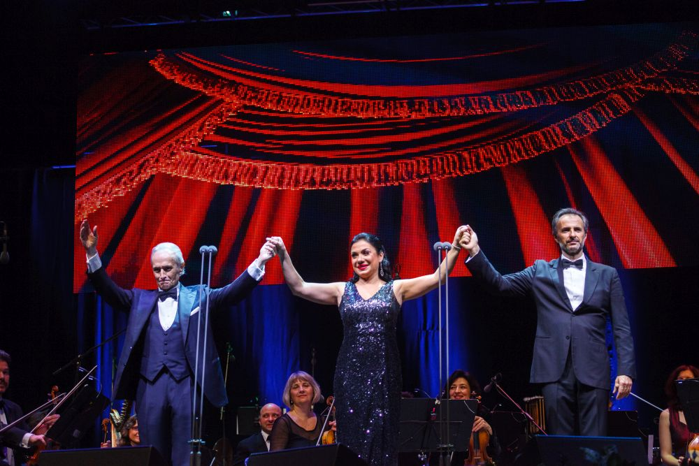 Jose Carreras concert Cluj aplaudat